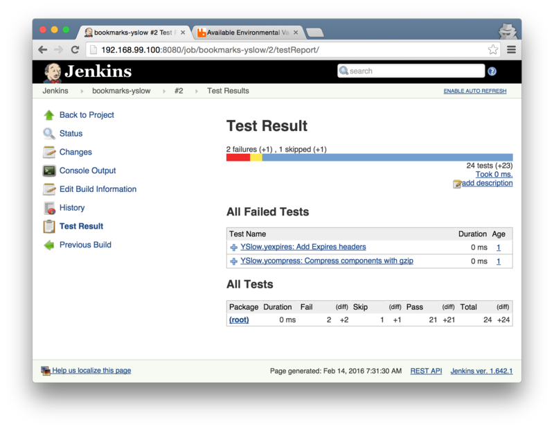 jenkins failure